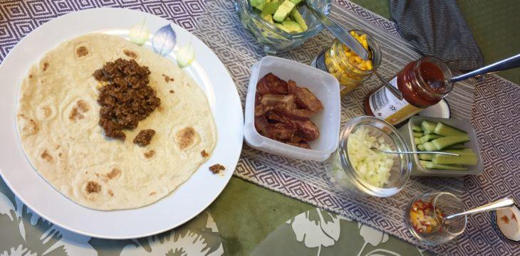 スウェーデンの国民食、タコスを食べた日。